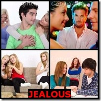 JEALOUS- 4 Pics 1 Word Answers 3 Letters