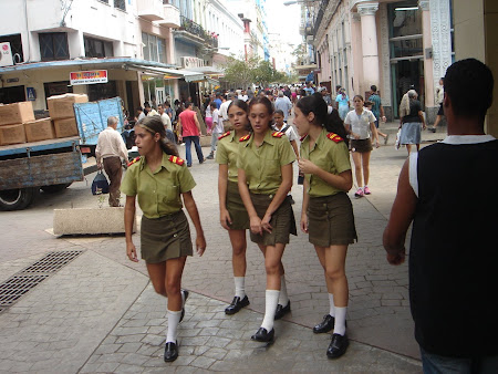 Sexy army of Cuba