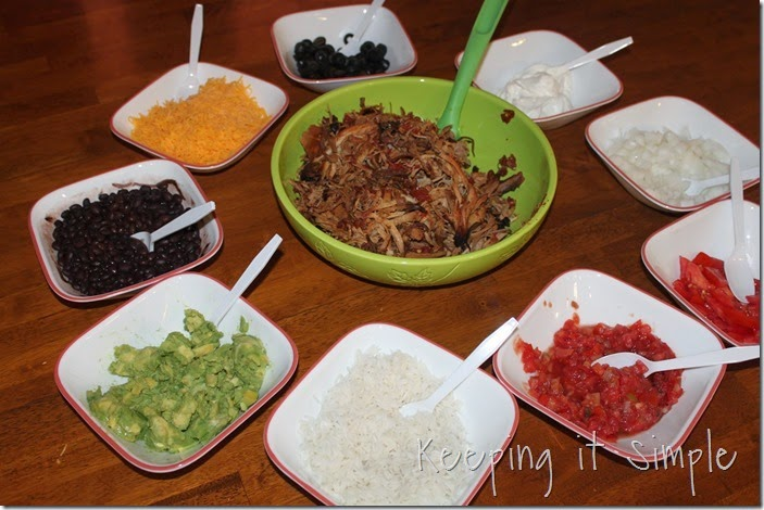 Crock Pot Pork Burritos #SuccessRice #ad (5)