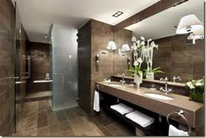 Baños Modernos de Visita5