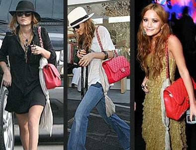 celebs with chanel bag