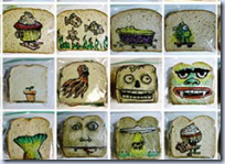 Sandwitch Bag Art