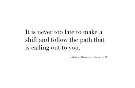 Make a path