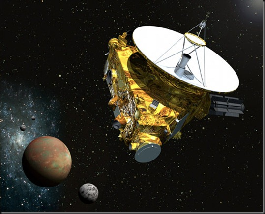 NH spacecraft at Pluto