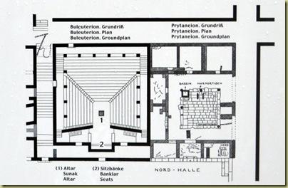 Priene Buleuterion Plan