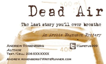 dead air biz card