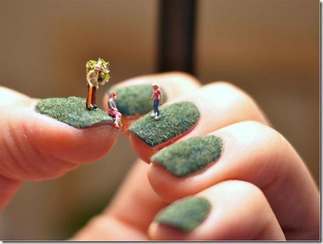 unghii cu figurine