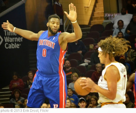 'Andre Drummond and Anderson Varejao' photo (c) 2013, Erik Drost - license: https://creativecommons.org/licenses/by/2.0/