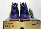 nike lebron 10 ps elite blue black 8 05 Release Reminder: Nike LeBron X P.S. Elite Superhero