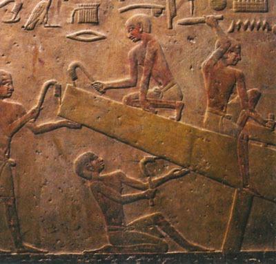 Cantere navale egizio piramide del faraone Unas a Saqqara