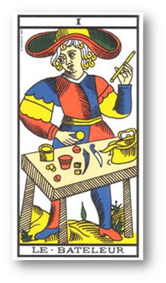 El Mago. Tarot de Marsella