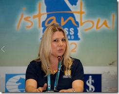 Susan Polgar in Istanbul