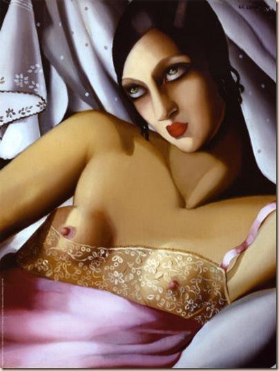 Tamara de Lempicka, Jeune femme
