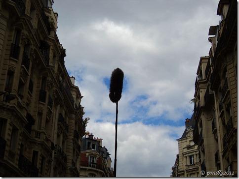 Sur un tournage, Paris