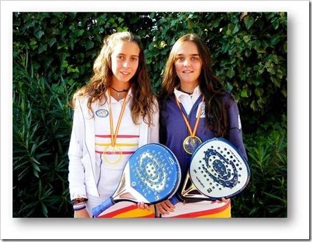 Las jugadoras Marta Castro y Marta Talaván