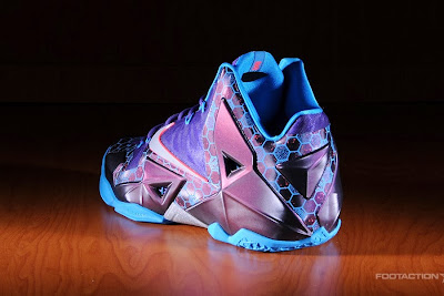 nike lebron 11 gr summit lake hornets 8 03 Release Reminder: LeBron 11 Hornets Buzz In Tomorrow