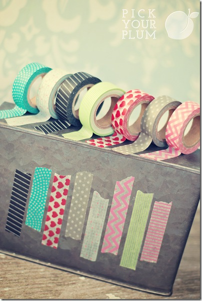 Chevron Washi Tape 3