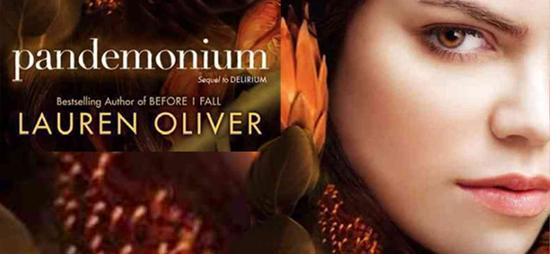 Pandemonium - Lauren Oliver - banner