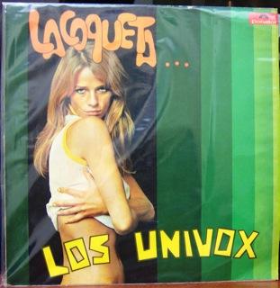 Los Univox  La Coqueta Vocals Chiqui Medina  Jairo Rojas  LP Front