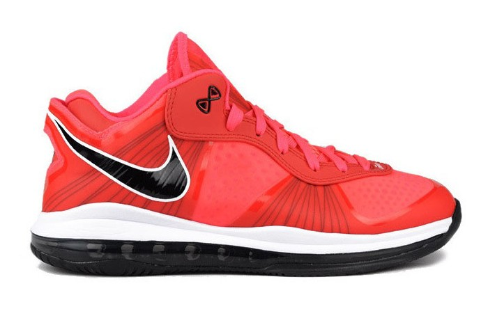 lebron 8 low red - photo #11