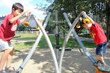 The boys at the Folimanka playground