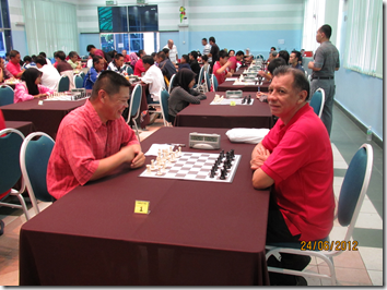 Jax Tham vs Bagamasbad Efren Jose, top board round 5