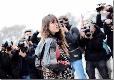Charlotte Gainsbourg Celebrities Arrive Balenciaga 24G_WZjOcESl