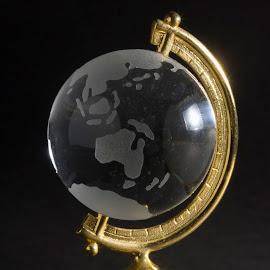 Glass Globe by Fabio Latorre - Artistic Objects Glass ( macro, indonesia, australia, glass, travel, globe )