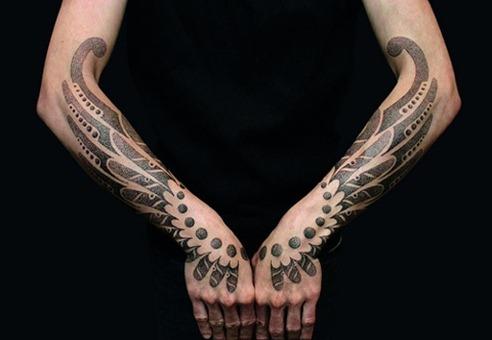blackwork tattoo vincent
