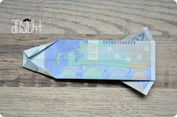 DIY Geld falten - Mein letztes Hemd (9)