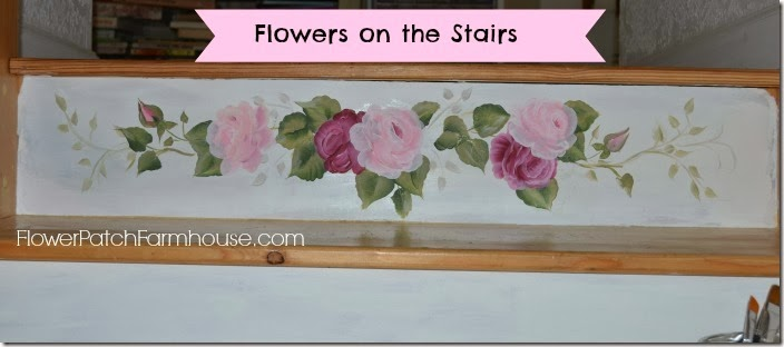 Stair painting banner