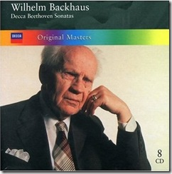 Beethoven sonatas piano Backhaus