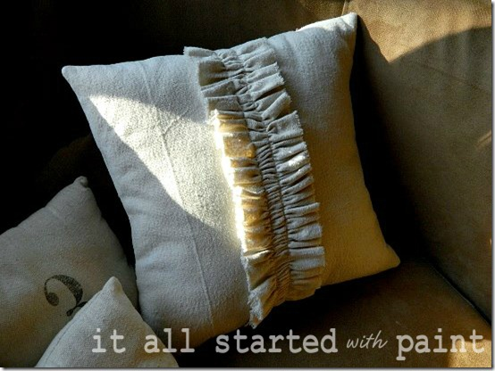 drop cloth ruffled pillow final 2
