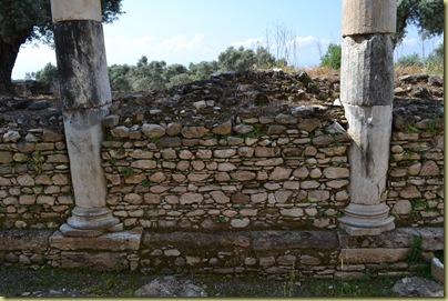 Nysa Agora wall foundations
