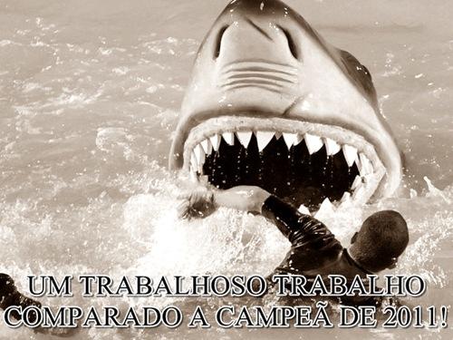 Carro do tubarão muito cuidado hein!