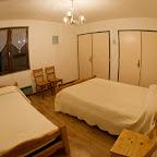 Chambre Bleue 2ème étage chalet L'Orée du Bois - Location - Les Carroz
