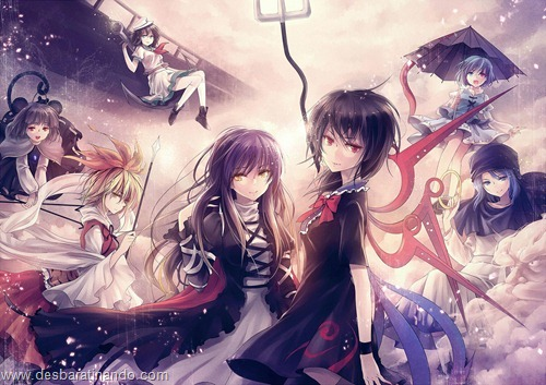 touhou wallpapers papeis de parede anime download desbaratinando (8)