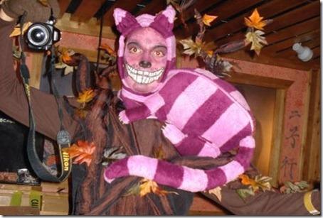 Gato de Cheshire disfraz (1)