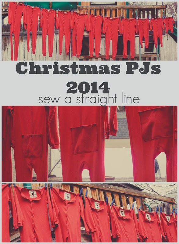 lil long johns christmas pjs sew a straight line