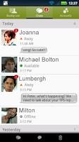 Screenshot of BeejiveIM for Facebook Chat