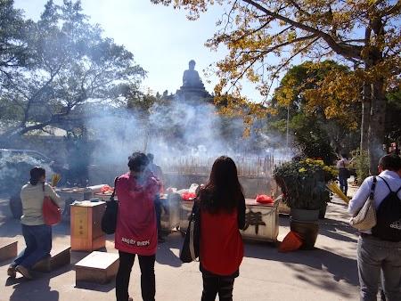 Imagini Lantau: Rugaciuni catre Buda