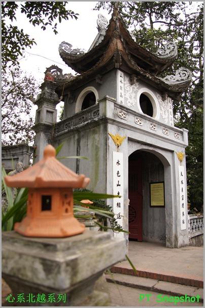 玉山祠庙的入口