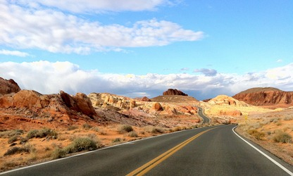 iPhone shot in the Valley of Fire