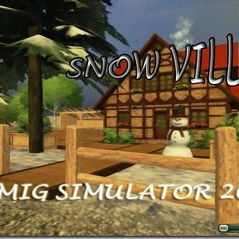 Farming simulator 2013 - Snow Village (mappa neve By_Falco80)