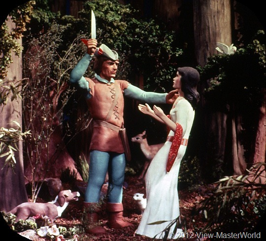 View-Master Snow White and the Seven Dwarfs (B300), Scene 6
