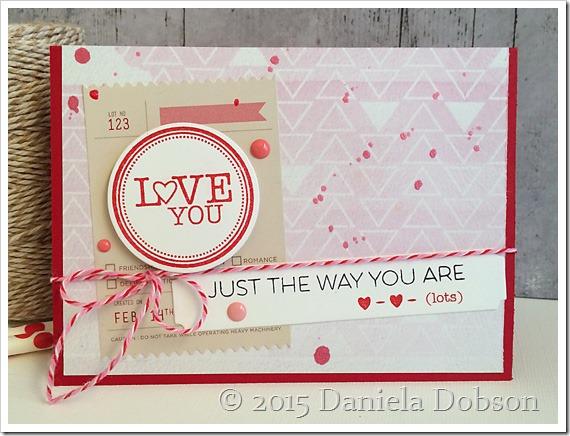 Love you by Daniela Dobson