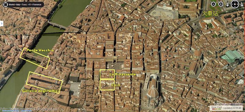 佛羅倫斯地圖bing.fw