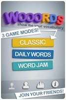 Screenshot of Wooords: The Word Puzzle Game