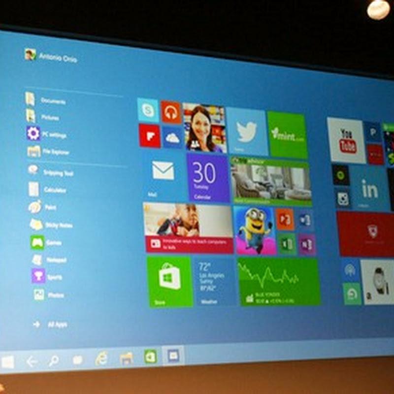 Windows 10 está Disponível para Download