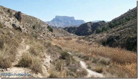 Terrazas del pantano de Elda - ruta El Chorrillo